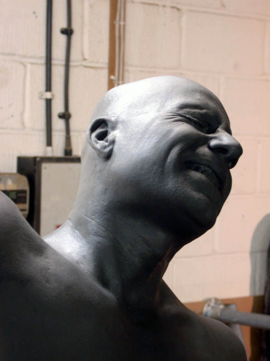bust-of-figure-silicone-rubber-sfx-1e - Brighton Body Casting