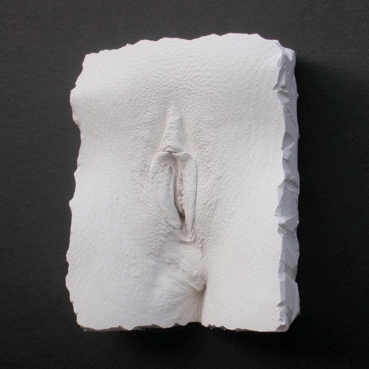 Vagina cast sculpture