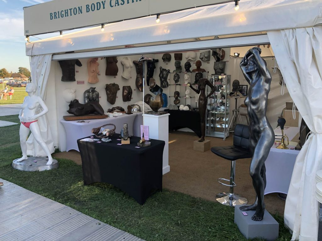 Goodwood Revival Brighton Body Casting stand